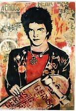 Obey Giant Shepard Fairey Poster Print Darby Crash The Germs Punk Rock