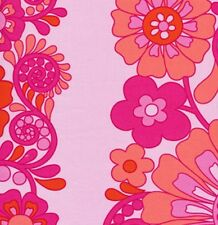Sis Boom Jennifer Paganelli Queen Street Madeline Fabric in Fuchsia 100% Cotton