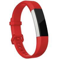 Fitbit Alta HR Armband Grš§e S Ersatz Band Silikon Sport Ersatzband Fitness Rot