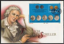 C 24 ) Bolivia  Fantastic Cover  - Friedrich of Schiller on a Giant FDC