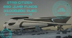 Star Citizen 890 Jump aUEC  33,000,000 Funds Ver 3.13 Alpha UEC