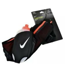 NWT Nike Large Flask Hydration Running Belt With 20oz Water Bottle Black $45