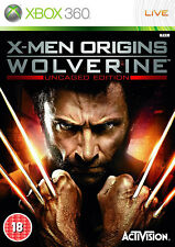 X-Men Origins Wolverine XBox 360 (in Good Condition)