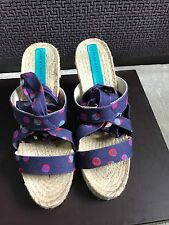 Marc By Marc Jacobs Wedge Sandals (size EU 38 / UK 5)