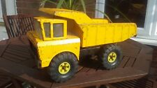 Large Yellow Tonka Dumper Truck. 80's,vintage old toy.