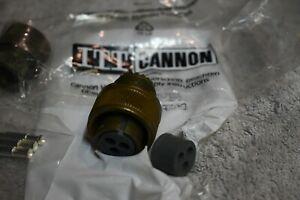 Military connector CA3106E16-10S-DN-F80 MS connector 3 Pin ITT Cannon