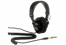 Sony MDR7506 High Quality Large Diaphragm Foldable Monitoring Headphones