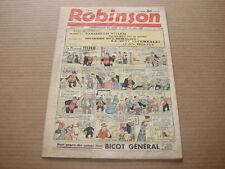 *** ROBINSON *** n° 134 - 20/11/1938
