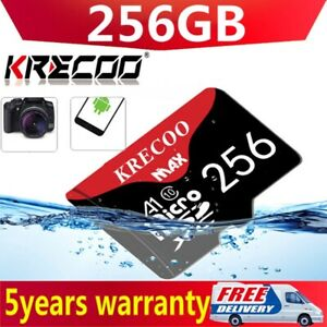 64/128/256GB Super Micro Memory SD Card 325MB/S C10 Flash TF Card with Adapter