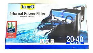NEW Tetra Whisper In Tank Filter 40I with BioScrubber 20 to 40 Gallon Filtration