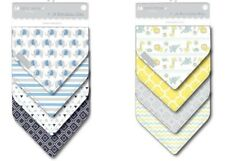 8 Baby Bandana Drool Bibs Soft Cotton Super Absorbent 8 Pack Gift Set