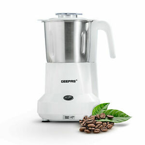 Geepas Electric Coffee Grinder Machine Milling Bean Nut & Masala Spice Grinding