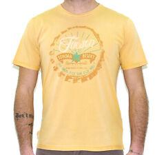 T-shirt uomo MCS Marlboro Classics con stampa manica corta giallo 3591