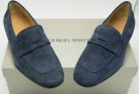 Authentic New with Box Giorgio Armani Men's Loafers Shoes US size 7.5