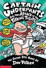 Captain Underpants: Attack of the Talking Toilets 2 by Dav Pilkey (1999, Paperba