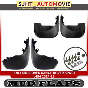 4x Mud Flap Splash Guards Mudflaps fit Land Rover Range Rover Sport L494 14-2016