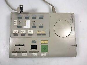 MG1 2587 Remote  Controller for Canon Microfilm Microfiche Scanner Used