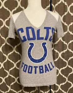 NIKE Indianapolis Colts T-shirt NFL Football Women's Size Small EUC!