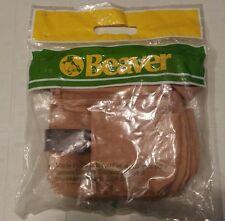 Vintage Beaver Lumber Top Grain Leather Tool Belt in Original Sealed Packaging