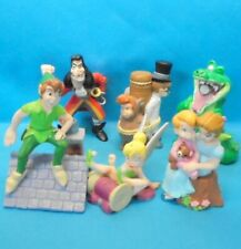 PETER PAN : Serie komplett 6 Figuren - Sets DISNEY STORE