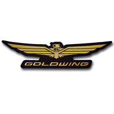 """Big 13 5/8 """" x 3 1/8"""" Goldwing Patch Embroidered Iron on Emblem Motorcycle Honda"""