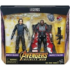 Marvel Legends Avengers Infinity War Winter Soldier Falcon 2 PK Target