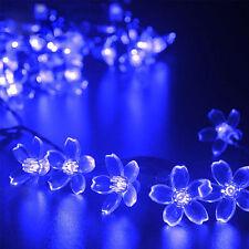 Solar Blossom Flower Fairy String Lights 23FT 50LED Outdoor Garden Wedding Decor