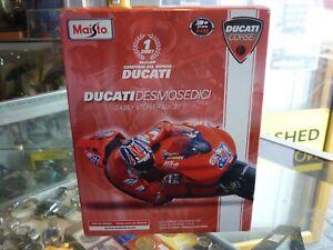 MAISTO DUCATI DESMOSEDICI CASEY STONER LIMITED EDITION 2007 MOTO GP CHAMPION
