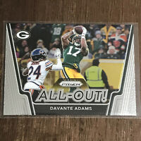 2020 Panini Prizm All-Out Davante Adams #13 Green Bay Packers