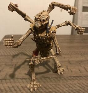 Vintage 1994 Playmates Skeleton Warriors Aracula Skull Loose Action Figure HTF