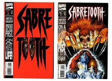 Sabretooth #1-4 (1993) Marvel VF/NM to NM