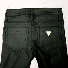 Women's Guess Faux Leather Low-rise Super Skinny Jeans Sz. 0/ 24  Maxine Fit EUC
