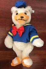 Vintage Steiff Donald Duck For The 1993 Disney Doll & Teddy Bear Festival Ex