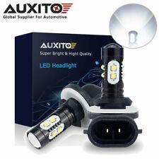 2X AUXITO 894 881 889 898 LED Fog Light Bulb 100W  2800LM High Power Xenon White