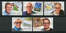 Australia 2019 MNH Legends of Children's Literature Authors 5v Set Stamps