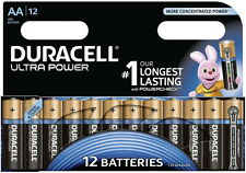 12 Duracell Ultra Power AA / Mignon / MX1500 Alkaline Batterien im 12er Blister