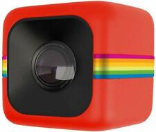 Polaroid Cube HD 1080p Lifestyle Action Video Camera Red