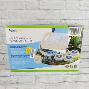 Aquascape 4 Outlet Aeration Kit Pond Aerator