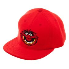 Brand New Men's Disney  Muppets Animal Embroidered Adjustable Snapback Cap Hat