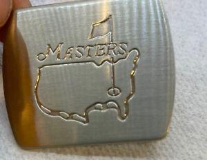 Vintage Masters Golf Augusta Belt Buckle