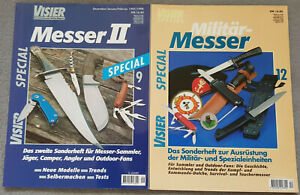 2 Hefte Visier Special Nr. 9 Messer II + Nr. 12 Militärmesser Sonderheft Spezial