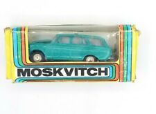Moskvitch 1:43 USSR Tantal Russia 427 Metal Green Collectible Car Vintage Rare