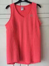 Womens Size 12 Kalenji Sports Vest Salmon Pink Coral