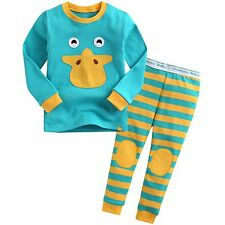 "Vaenait Baby Infact Clothes Kids Boys Sleepwear Pajama ""Tie Ducky"" XS(12-24M)"
