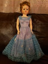 Vintage 1950's Sweet Rosemary Bride Doll Deluxe Soft Miracle Vinyl 30""