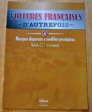 Voitures françaises d'autrefois, Altaya, n°41, Voisin C27 Aérosport