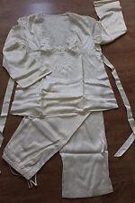 Lise Charmel 2 tlg Seidenpyjama Silk Schlafanzug Pyjama Gr.44 Lingerie Seide NEU