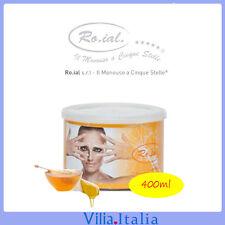 Cera depilatoria a vaso al miele 400ml Ro.ial