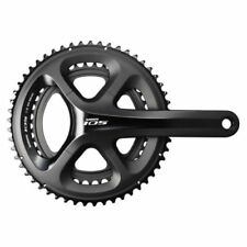Shimano 105 5800 Compact Crankset & Bottom Bracket Black, 50/34T, 172.5mm