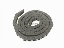 """2pcs Cable Drag Chain Wire Carrier 7*7mm 7mm x 7mm R28 1000mm 40"""" for CNC"""